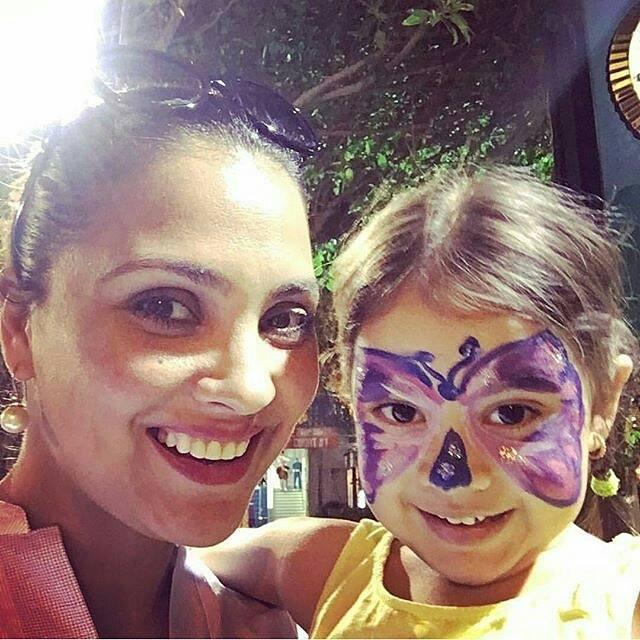 Lara Dutta with her adorable daughter Saira