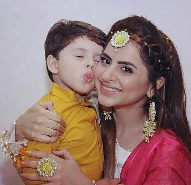 Latest Photo Of Fatima Effendi With Her Son Almir