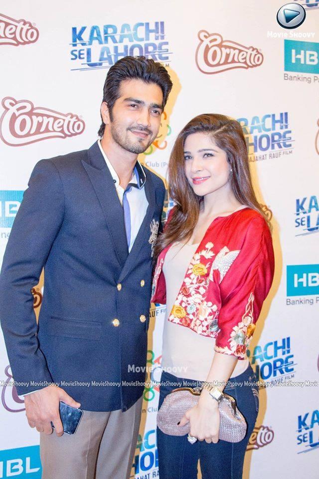 Lead Cast Of Karachi Se Lahore Tak