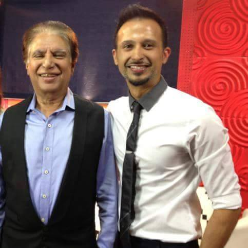 Living Legend Rahat Kazmi with son Ali Kazmi very talented actor