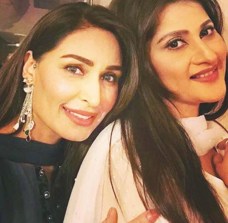 Lollywood Legend Actress Reema & Sahiba