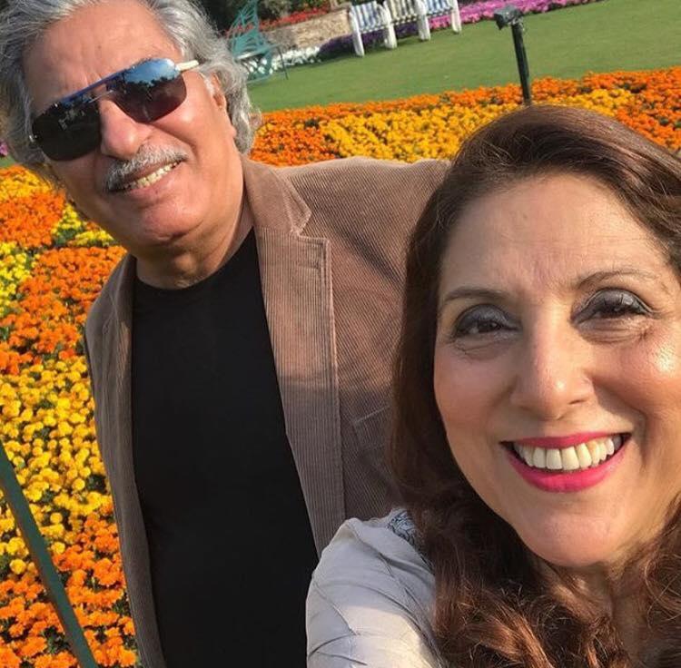 Lovely Click Of Samina Peerzada & Usman Peerzada