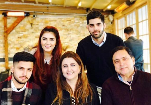 Lovely Family Photo Of Momina Mustehsan