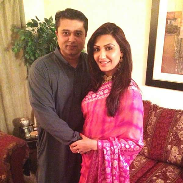 Maheen Rizvi With Her Husband
