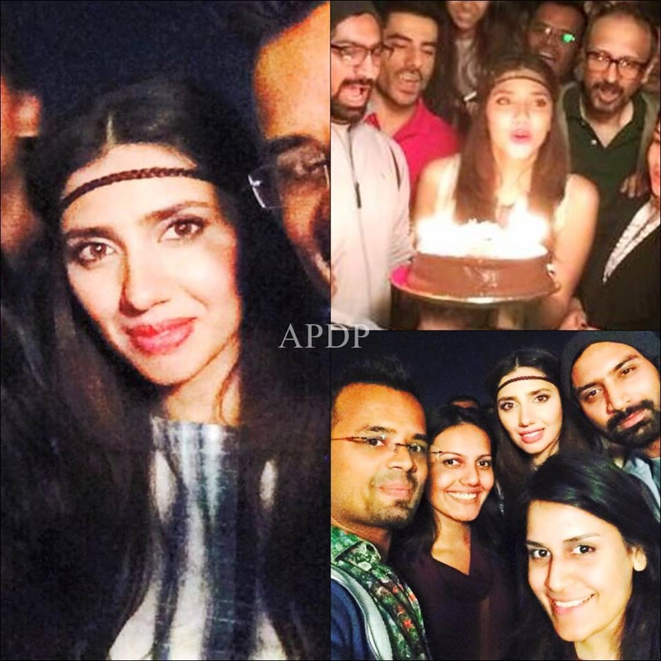 Mahira Khan Celebrating Her Birthday