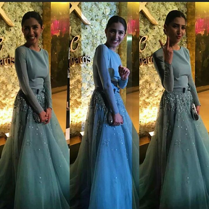 Mahira Khan at the Red Carpet of Lux Style Award 2015