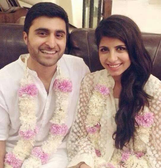 Mahnoor Baloch Daughter Laila With Her Husband
