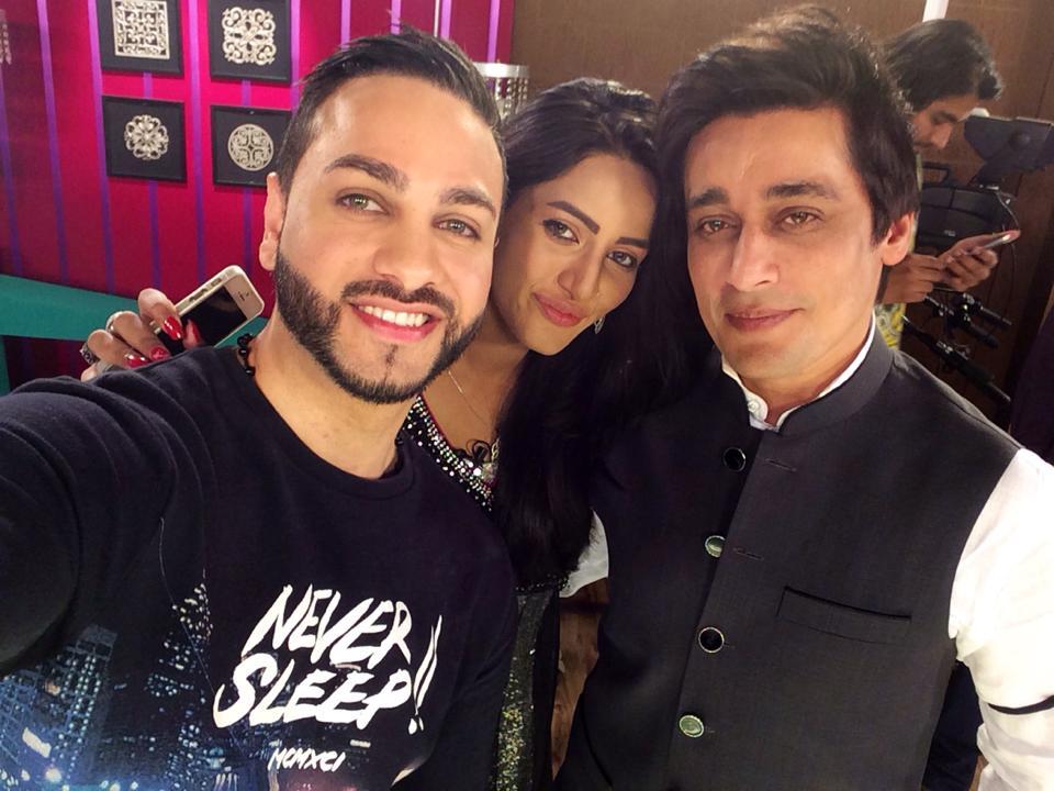 Mathira And Her Husband Flint J With Sahir Lodhi