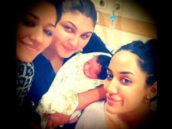 Mathira Blessed With Baby Boy