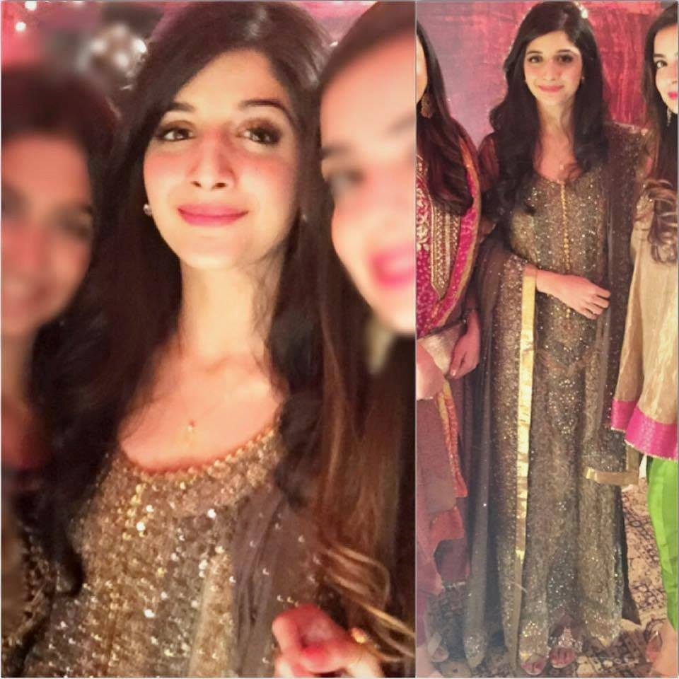 Mawra Hocane At Wedding Reception Of Mahnoor Baloch's Daughter
