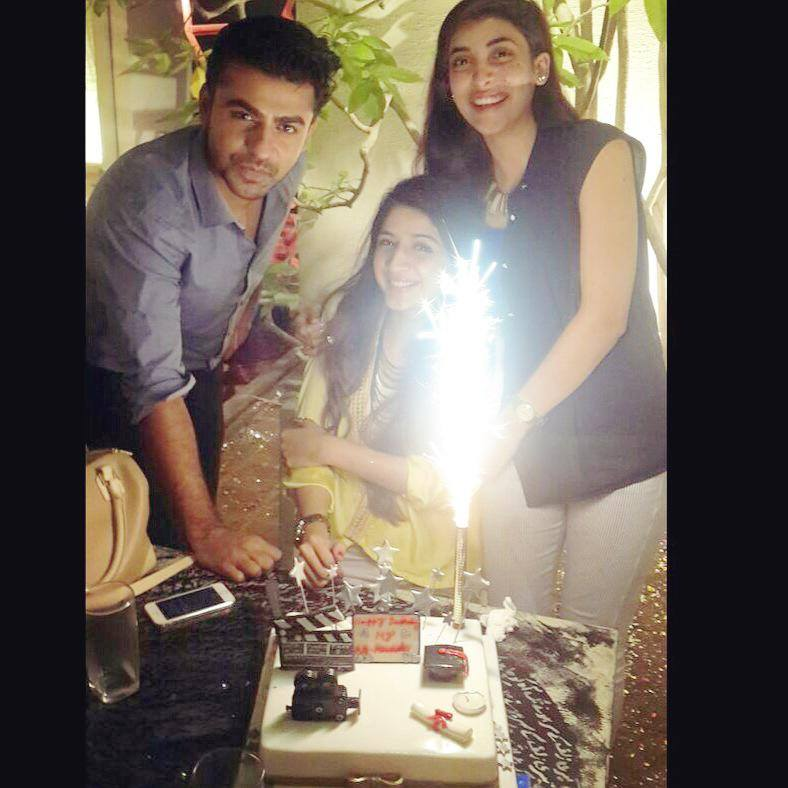 Mawra Hocane Celebrating Birthday With Friends
