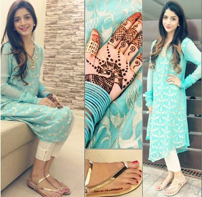 Mawra Hocane on Eid Day