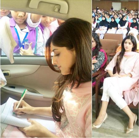 Mawra Hocane At Shaukat Khanum Breast Cancer Awareness Campaign 2014