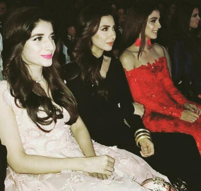 Mawra, Mahira & Maya At Lux Style Awards