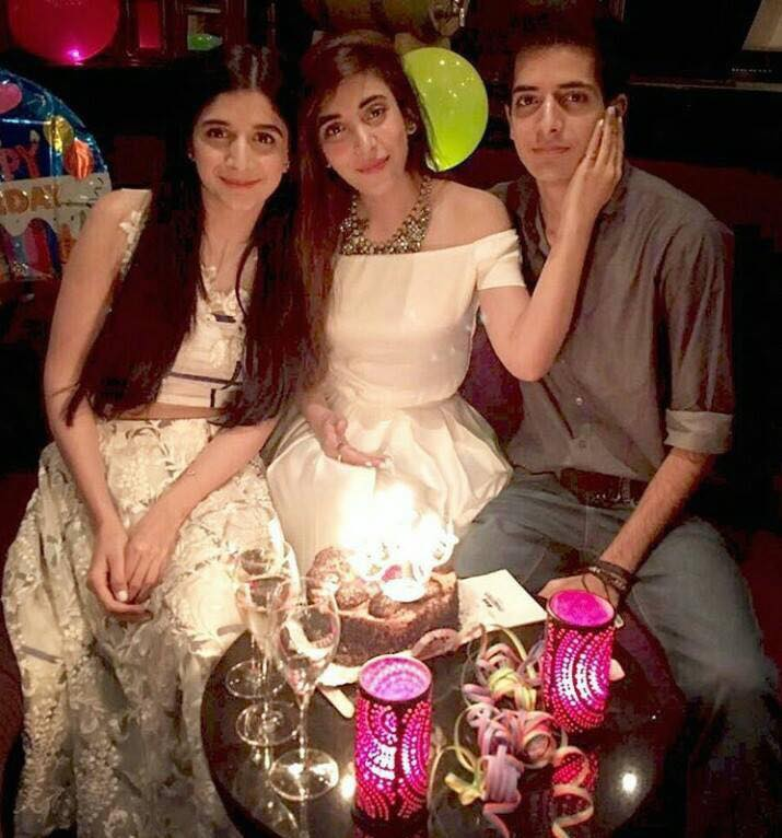Mawra & Urwa With Their Brother
