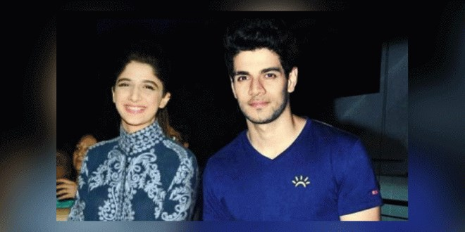 Mawra with Suraj Pancholi