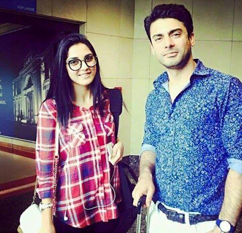 Maya Ali With Fawad Khan