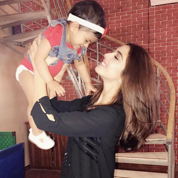 Maya Ali With Her Niece