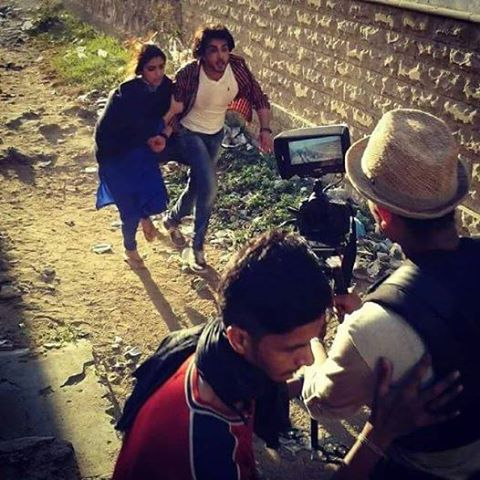 Maya Ali and Imran Abbas Behind The Scene Of Zulekha Bin Yousaf