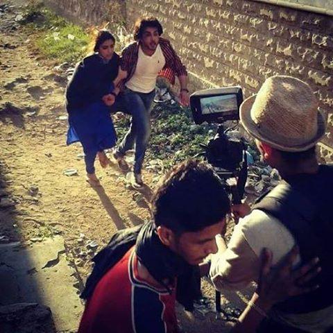Maya Ali and Imran Abbas Behind The Scene Of Zulekha Bin Yousaf