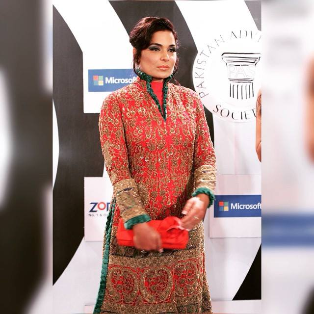 Meera Jee On Red Carpet At PAS Awards 2015