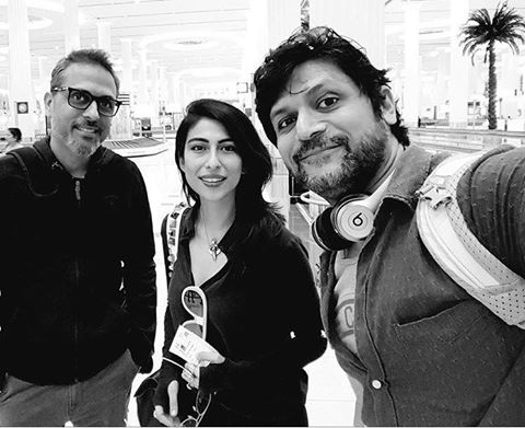 Meesha Shafi And Strings In Dubai