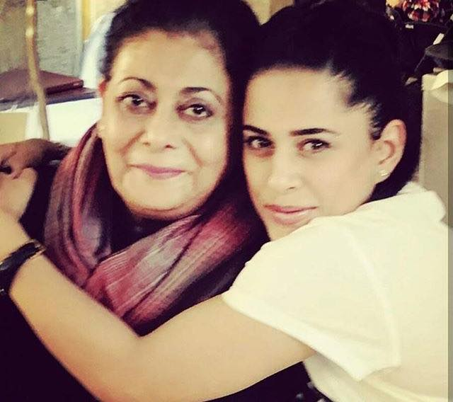 Mehreen Raheel With Her Mother Seemi Raheal