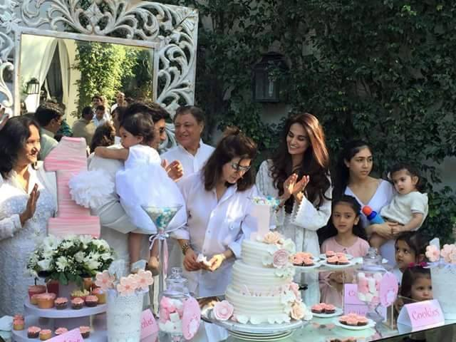 Mehreen Syed Celebrating Birthday Of Her Daughter