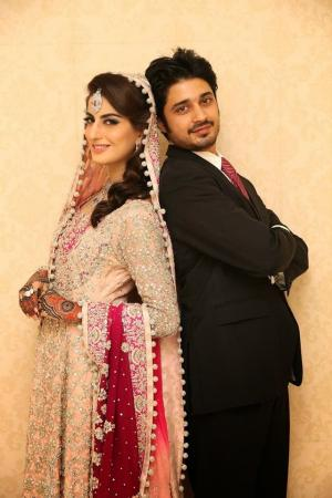 Memorable Wedding Picture Of Sana Khan And Babar Khan