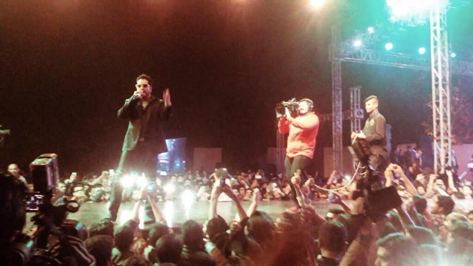 Mika Singh Perform At Lahore