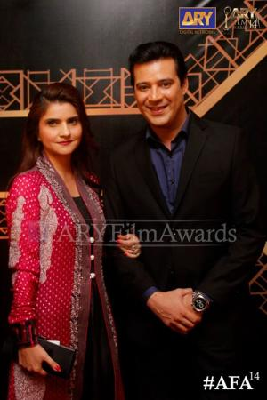 Moammar Rana At ARY Film Awards