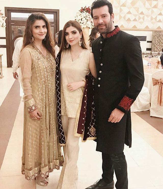 Moammar Rana With His Wife & Daughter