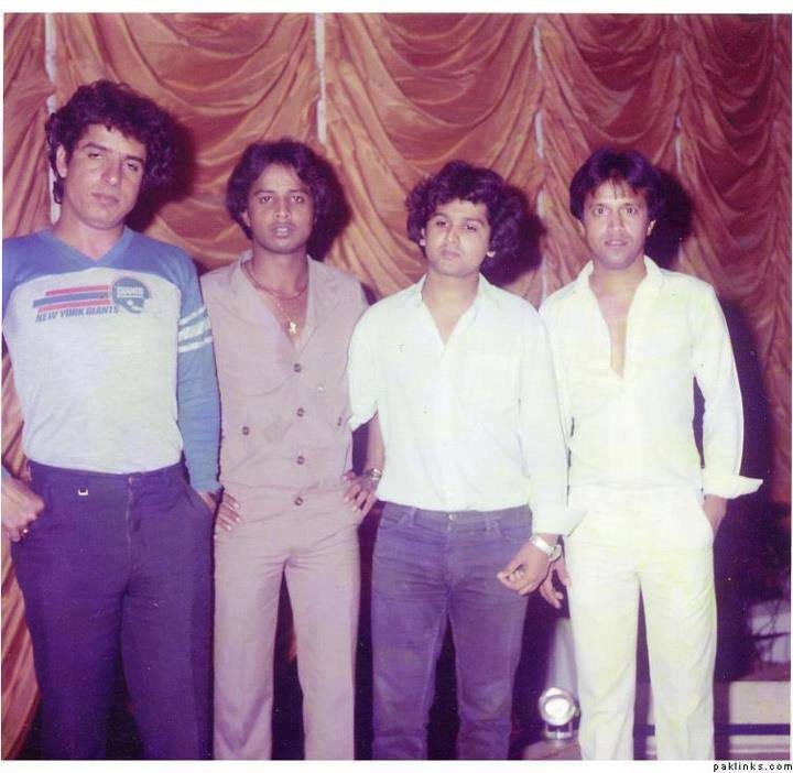 Mohammad Ali Shehki , Tehseen Javed , Saleem Javed & Alamgir Together In Young Age
