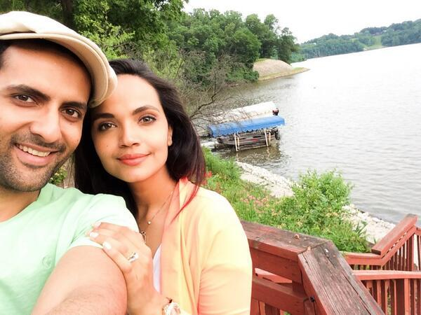 Mohib Mirza And His Wife Aamina Sheikh