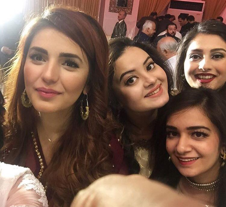 Momina Mustehsan In Her Cousins Wedding