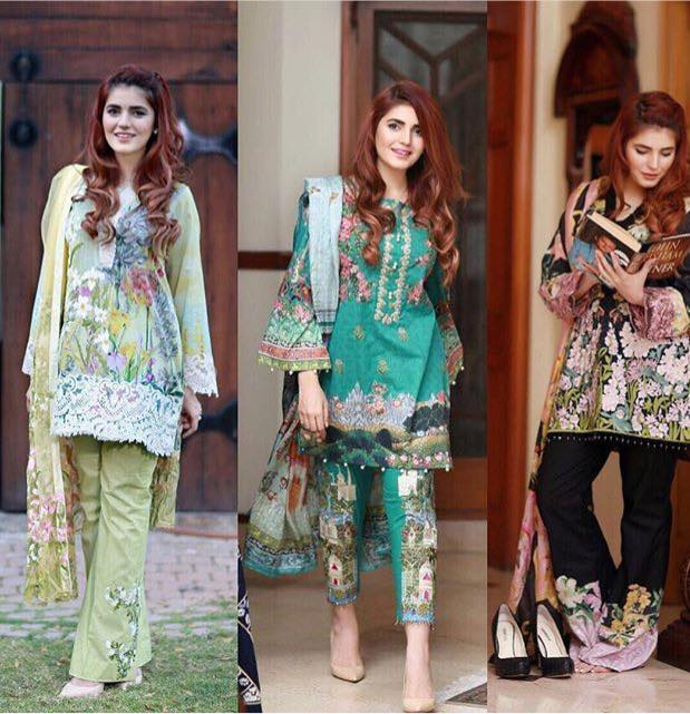 Momina Mustehsan Modeling For Lawn