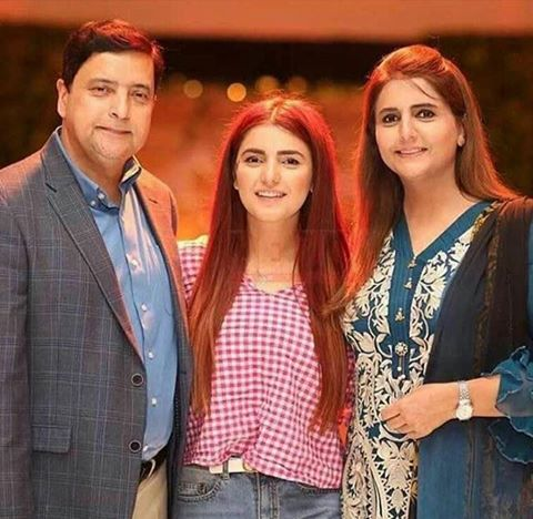 Momina Mustehsan With Her Parents
