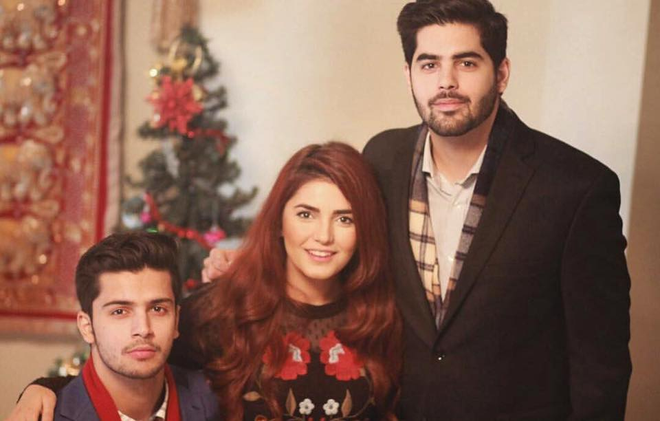 Momina Mustehsan With Her Siblings