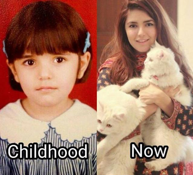 Momina Then & Now