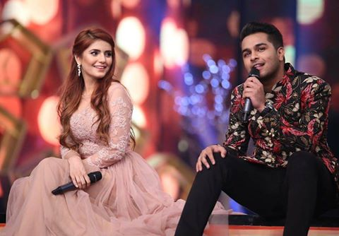 Momina & Azhar Performing At Hum Awards