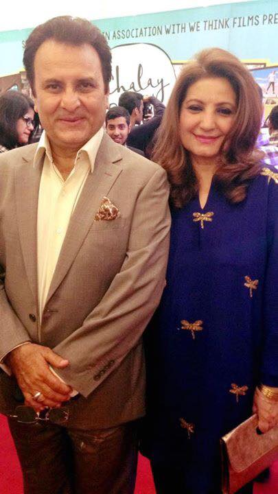 Mr & Mrs Behroze Sabzwari