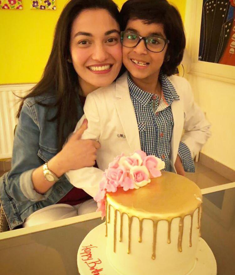 Muniba Mazari Celebrating Her Birthday