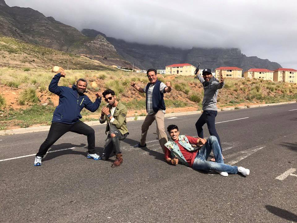Na Maloom Afraad 2 Shooting In Cape Town
