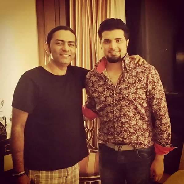Nabeel Shaukat Ali with Legendary Sajjad Ali