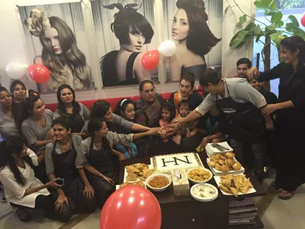 Nadia Hussain Celebrated First Anniversary Of Nadia Hussain Salon