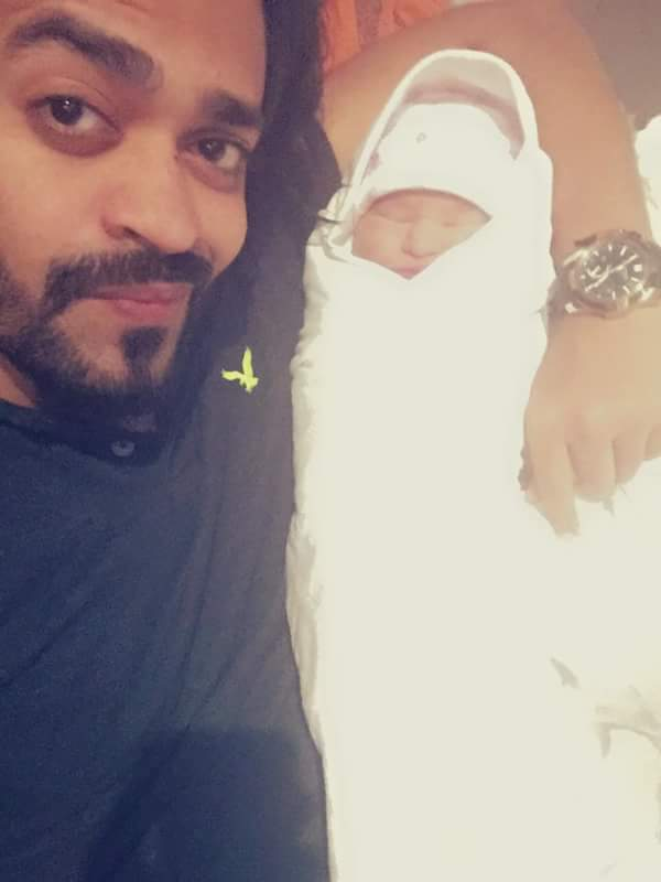 Naveed Raza Blessed With A Baby Girl