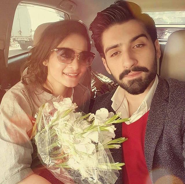 Nice Selfie Of Aiman & Muneeb