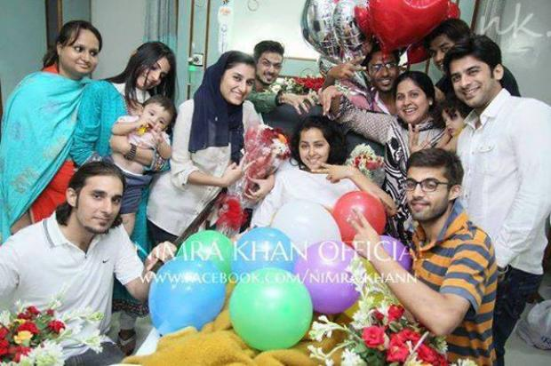 Nimra Khan Celebrated Her Birthday