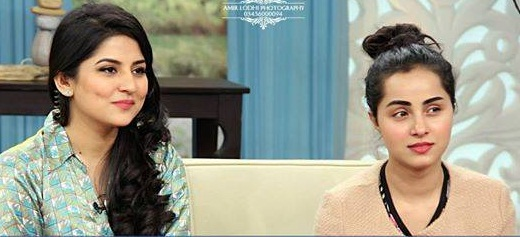 Nimra Khan In The Morning Show With Sanam Baloch