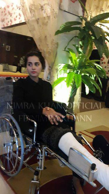 Nimra Khan Recovering